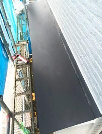 ガルバリウム鋼板設置