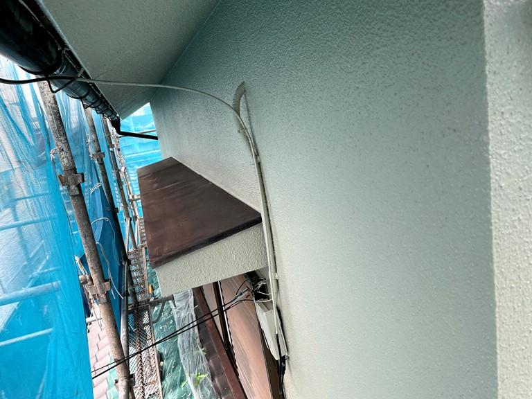 和歌山市でパーフェクトトップを使った外壁塗装の完成です