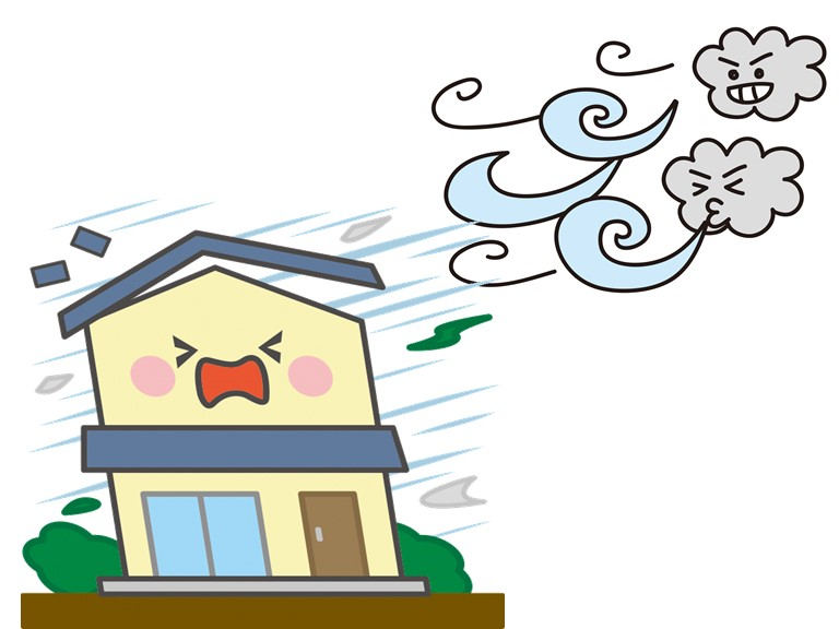 和歌山市で和室の天井から雨漏り、棟板金の釘が緩み飛散してました