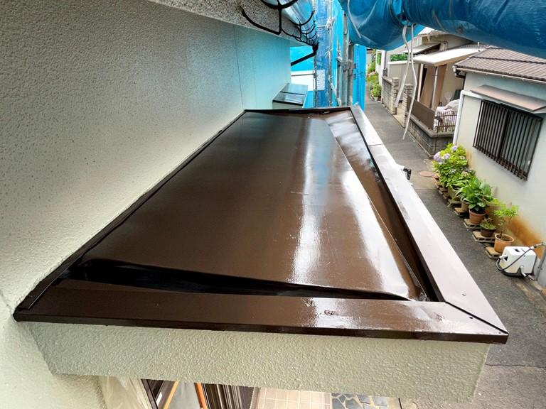 和歌山市で行った付帯部塗装と雨樋交換についてご紹介します