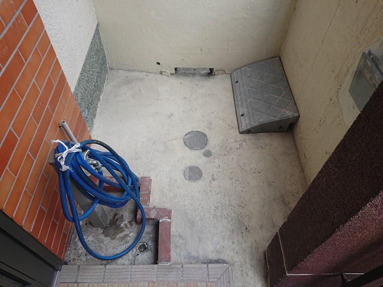 和歌山市で落下した外壁を綺麗に撤去しました