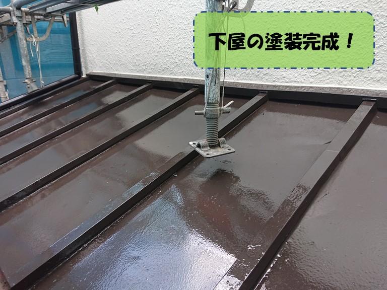 和歌山市で金属屋根の塗装をしました