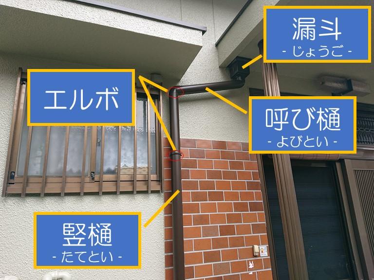和歌山市で雨樋を設置しました