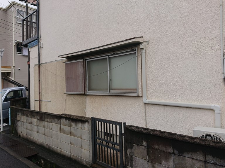 和歌山市使用しないテラスを撤去しました