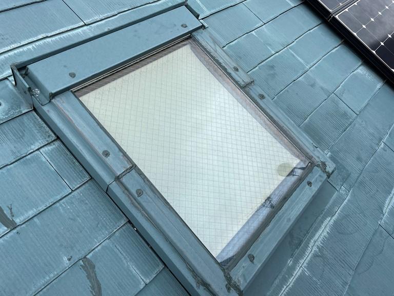 岩出市で天窓雨漏り補修が完成しました