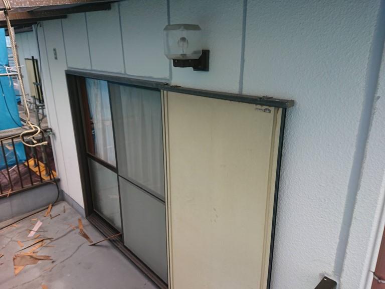紀の川市で外壁塗装前に行う補修工事が完了