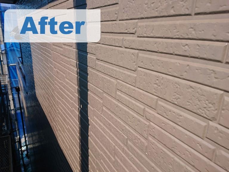 紀の川市で外壁塗装工事を行った時の完成後の写真