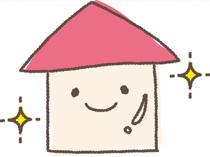 街の屋根やさん キラキラの家