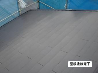 和歌山市の屋根塗装完了
