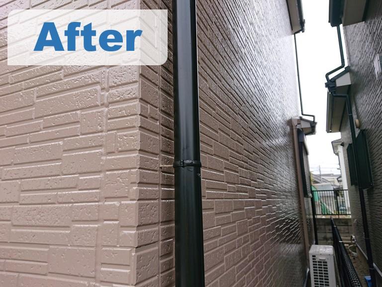 紀の川市在住のT様邸、外壁塗装工事を行い完成しafterの写真