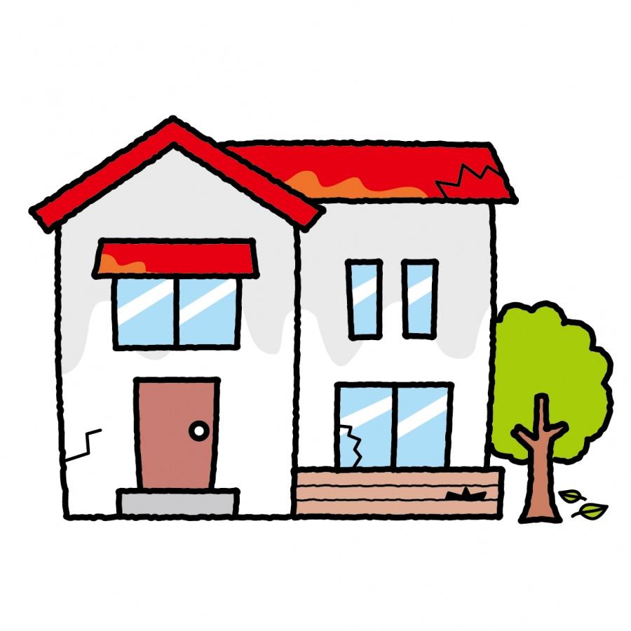 街の屋根やさん和歌山ボロボロの家