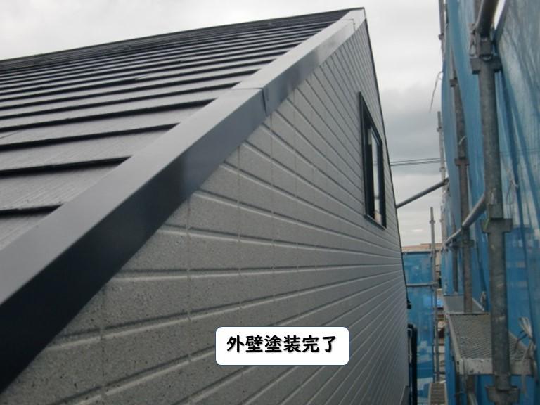和歌山市の外壁塗装完了