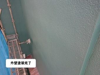 岩出市の外壁塗装完了