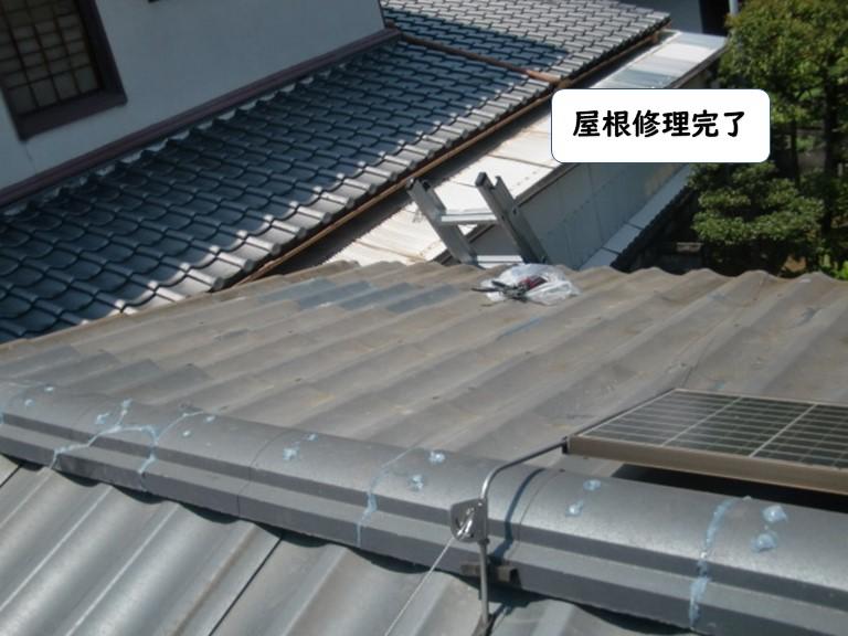 岩出市の屋根修理完了