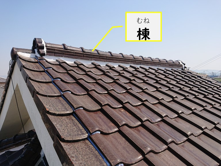 和歌山市で漆喰詰めの工事を行い完成した時の写真