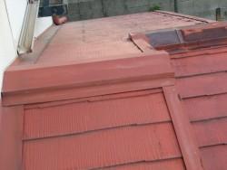 屋根葺き替え前