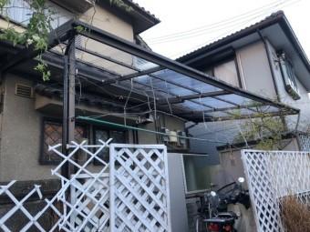 和歌山市の波板張替え完了!