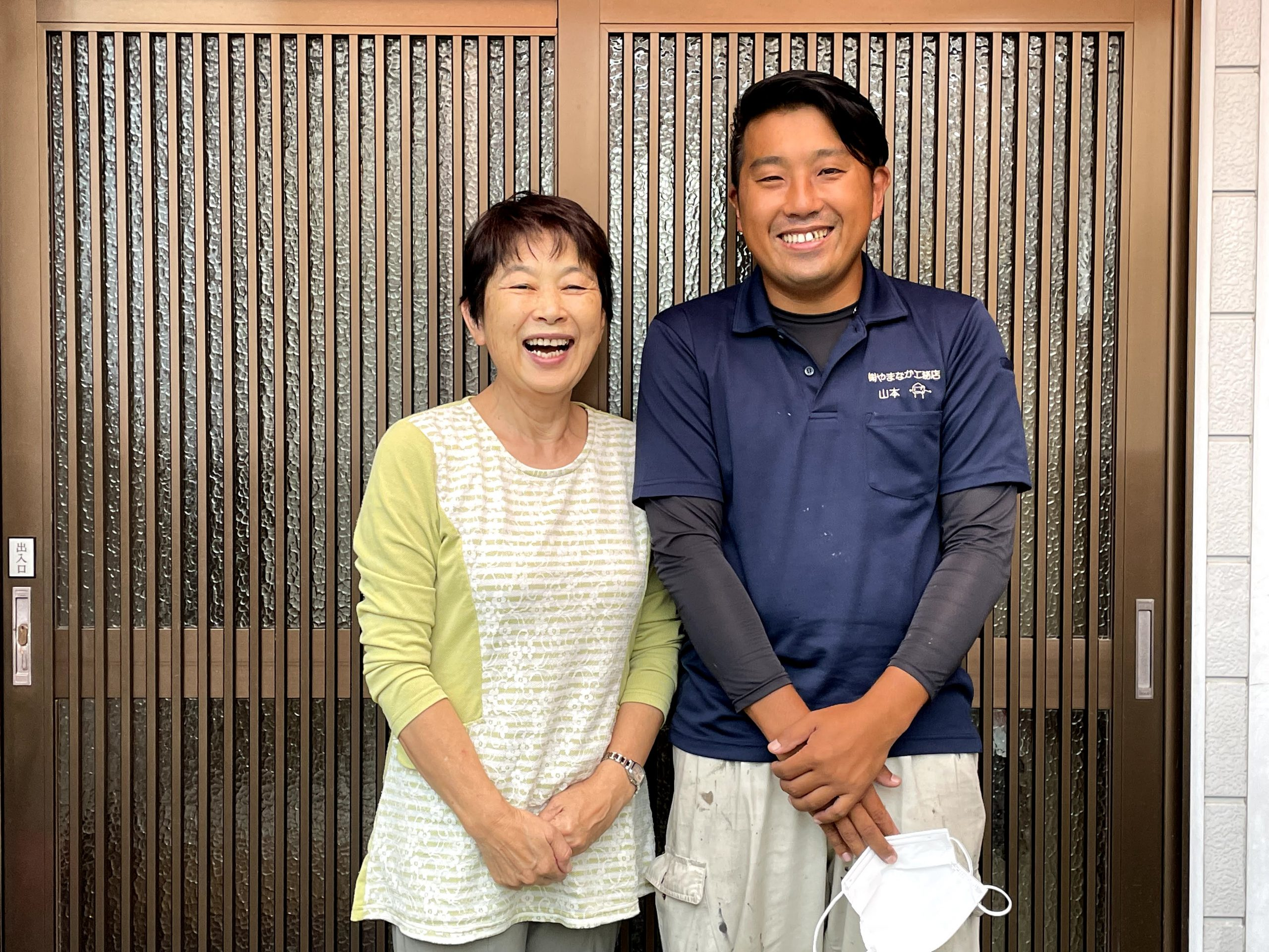 和歌山市のウレタンの防水層を施工したベランダ防水のO様邸!