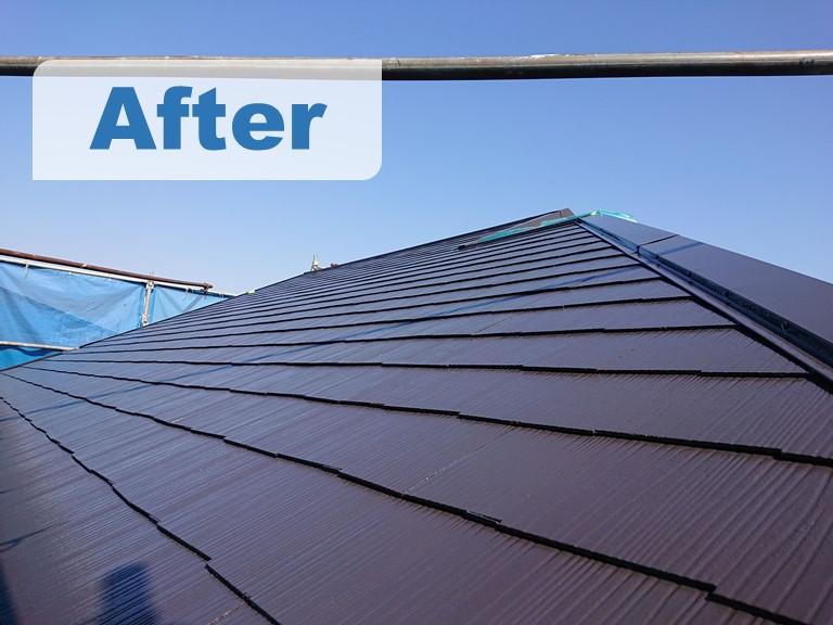 紀の川市で屋根塗装を行いビフォーアフターで写真を比べました