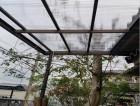 和歌山市のテラスの波板張替え完了